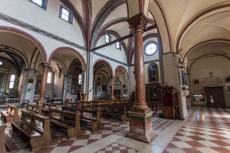Chiesa di San Francesco - Padova - Navata sinistra