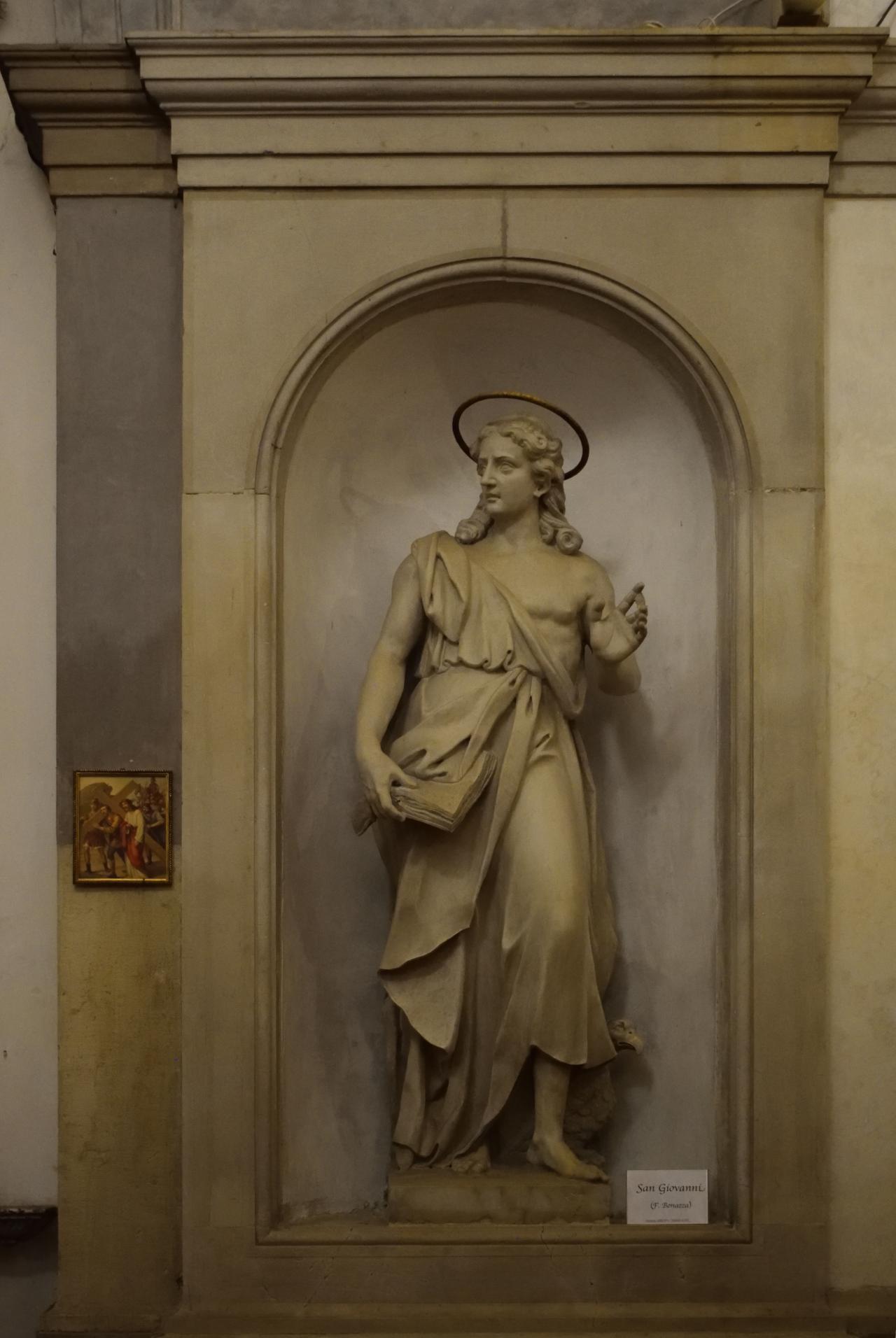 Oratorio di Santa Margherita - Padova - Lato destro - San Giovanni Evangelista