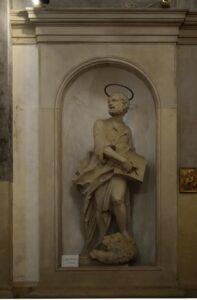 Oratorio di Santa Margherita - Padova - Lato destro - San Marco Evangelista