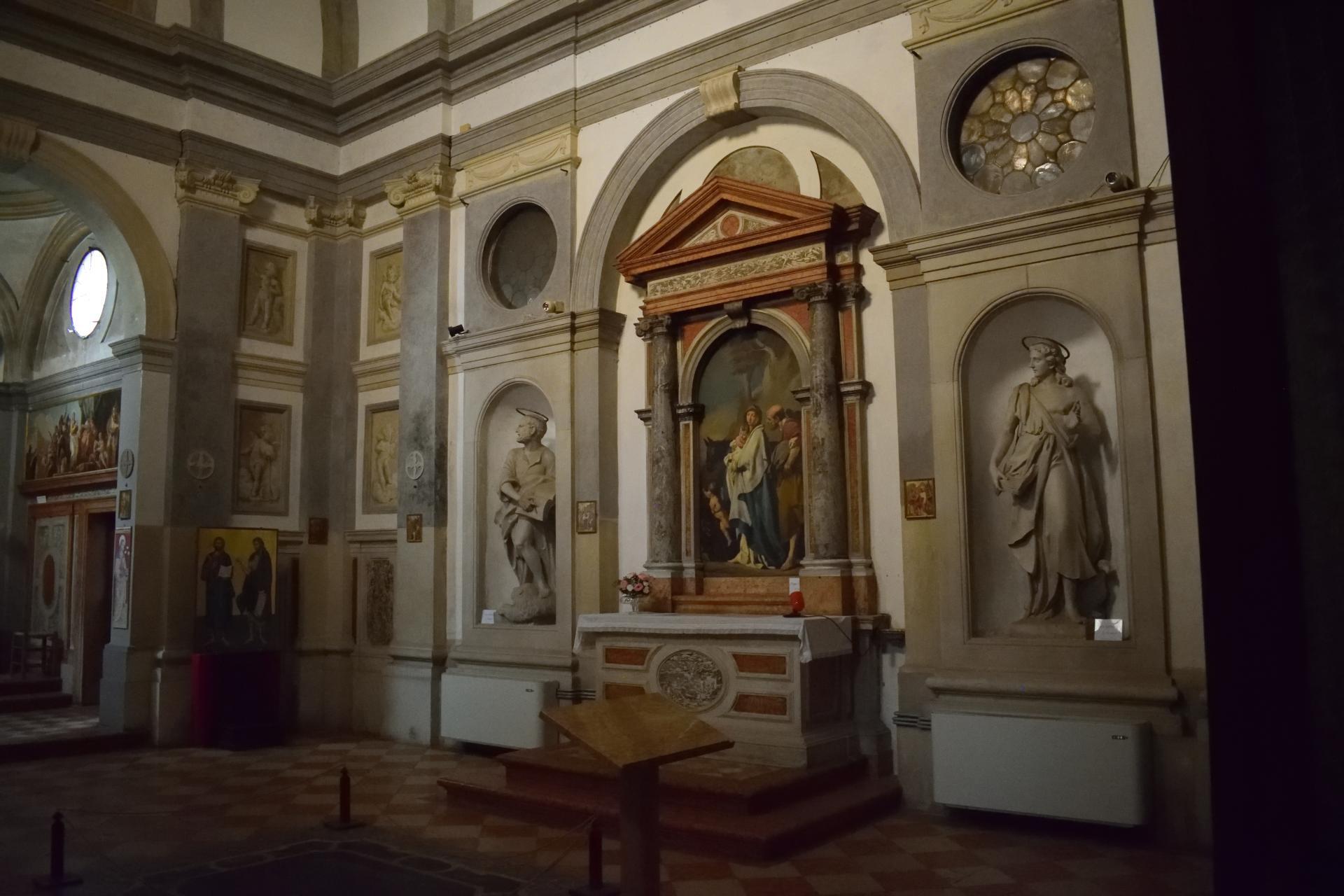 Oratorio di Santa Margherita - Padova - Lato destro
