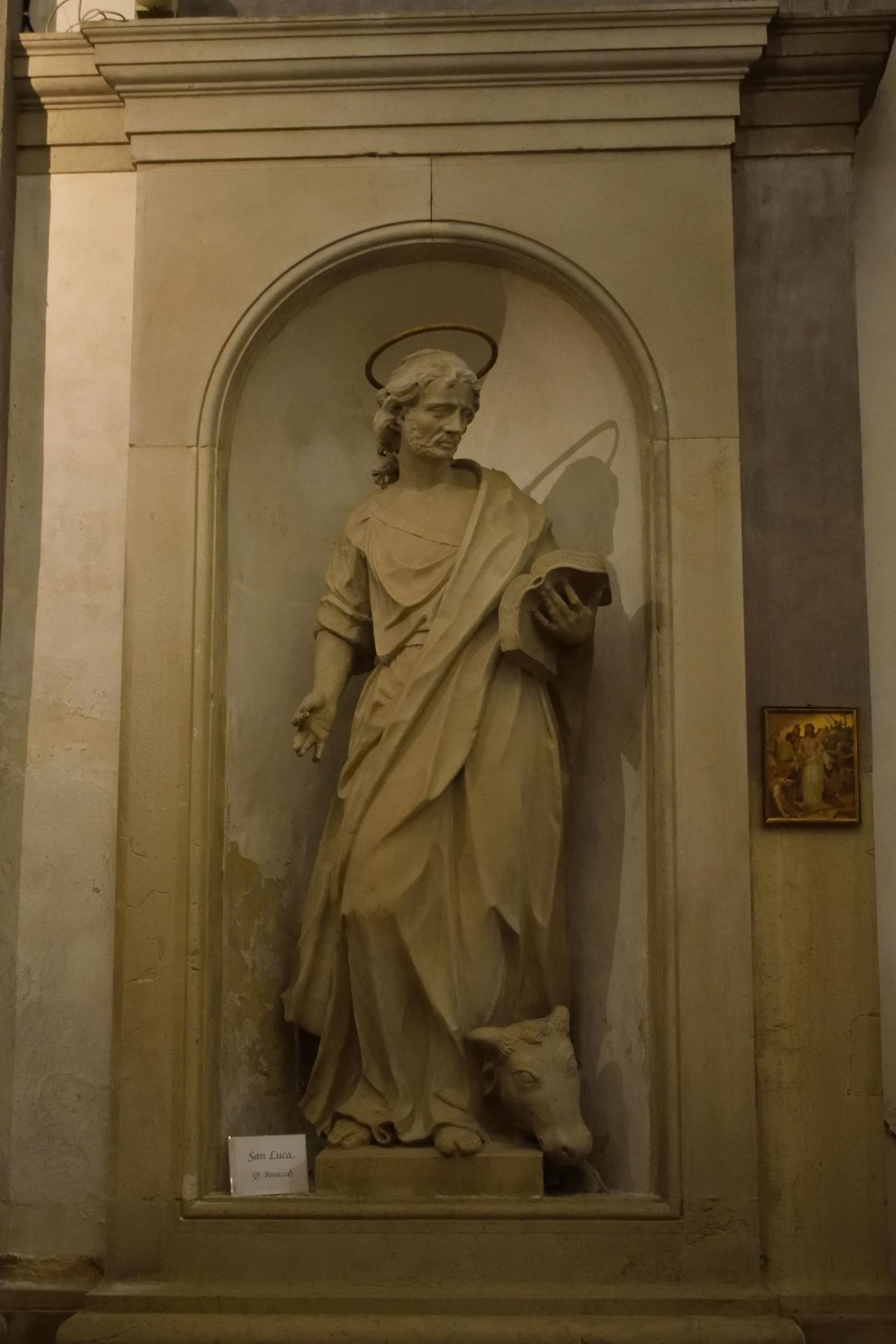 Oratorio di Santa Margherita - Padova - Lato sinistro - San Luca Evangelista