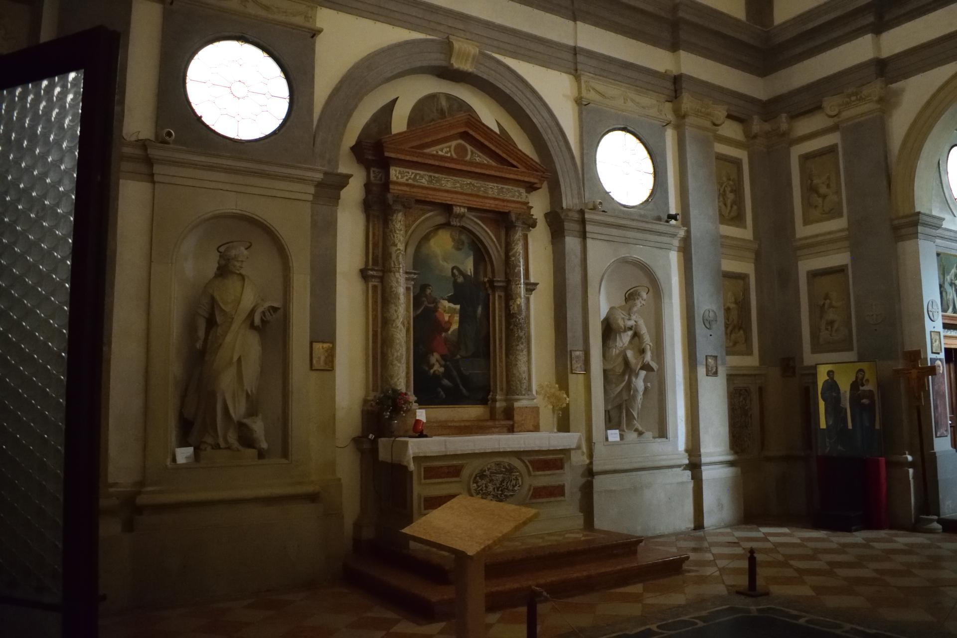 Oratorio di Santa Margherita - Padova - Lato sinistro