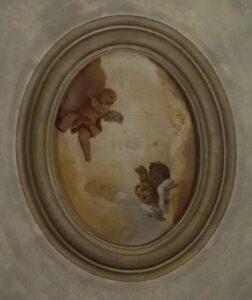 Oratorio di Santa Margherita - Padova - Presbiterio - Soffitto - Putti alati
