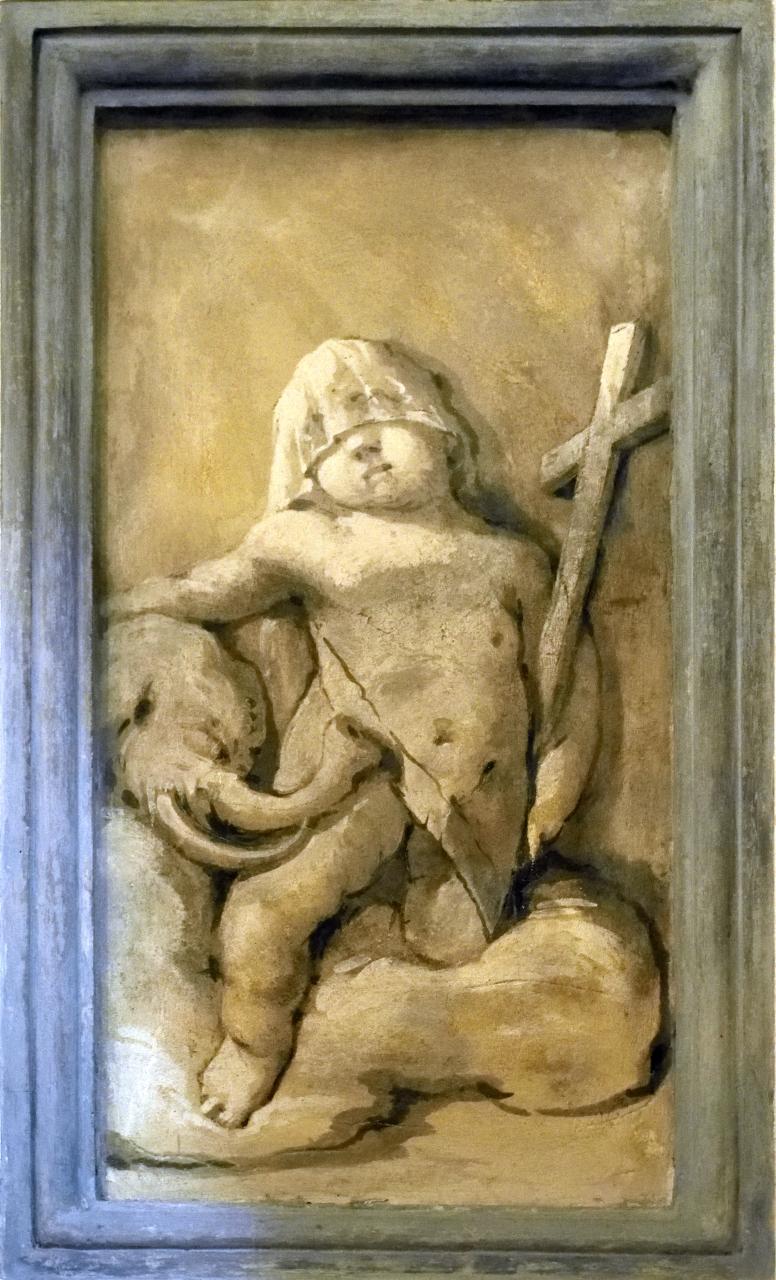 Oratorio di Santa Margherita - Padova - Putti alati - 03